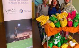 UNIC – LINEAPELLE Concerie Italiane dona le uova di Pasqua ai bambini ospiti  della Stella Maris