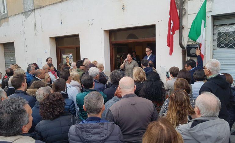 Calci, inaugurata la sede del comitato elettorale della candidata Serena Sbrana