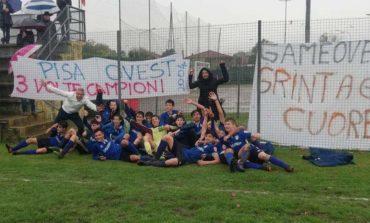 Trionfo Pisa Ovest, vittoria del campionato della categoria Giovanissimi 2004