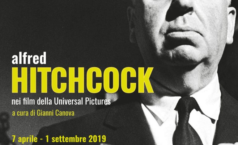 Alfred Hitchcock nei film della Universal Pictures, in una mostra fotografica al Museo della Grafica di Palazzo Lanfranchi