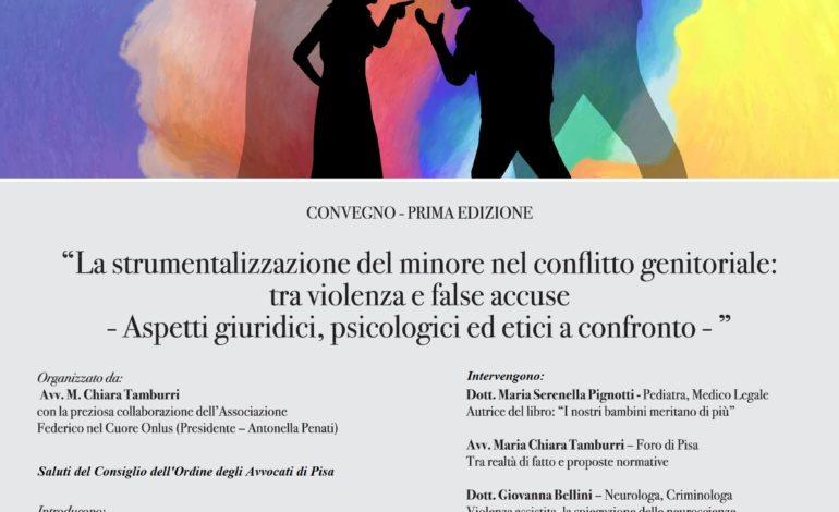 La strumentalizzazione del minore nel conflitto genitoriale, convegno alle Officine Garibaldi