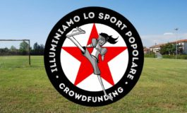"""Continua la campagna di crowdfunding """"Illuminiamo lo sport popolare"""""""