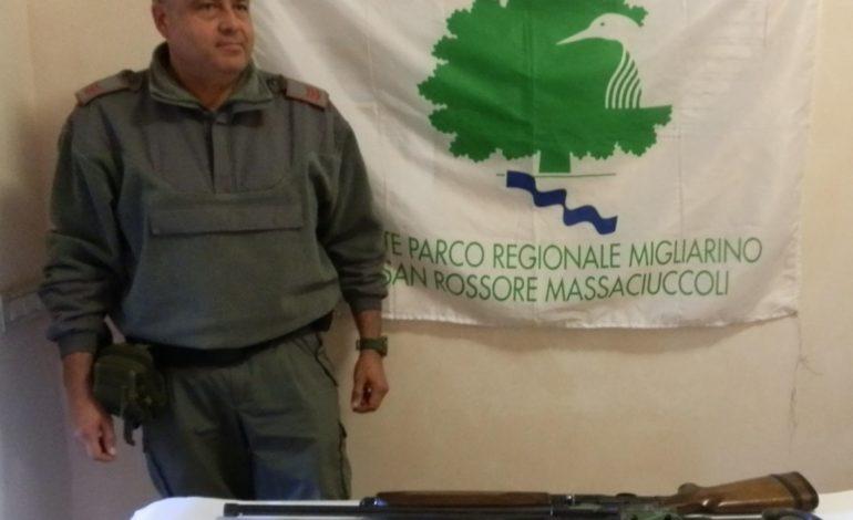 Lago di Massaciuccoli, i Guardiaparco individuano e bloccano due cacciatori di frodo