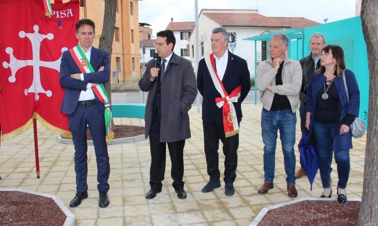 A Riglione inaugurata la nuova Piazzetta delle Donne