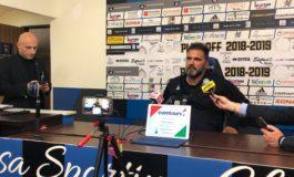 Interviste dopo la gara Pisa-Carrarese