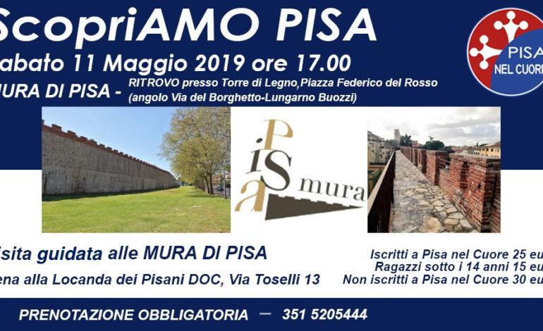 """Visita alle Mura pisane organizzata da """"Pisa nel Cuore"""""""