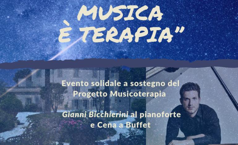 Il pianista Gianni Bicchierini a favore del progetto di Musicoterapia della Stella Maris