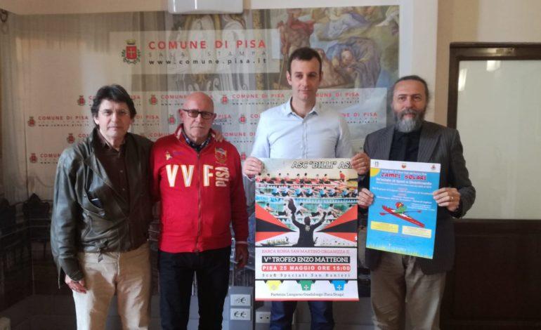 """Pisa, Sabato 25 maggio la quinta edizione del trofeo """"Enzo Matteoni"""""""