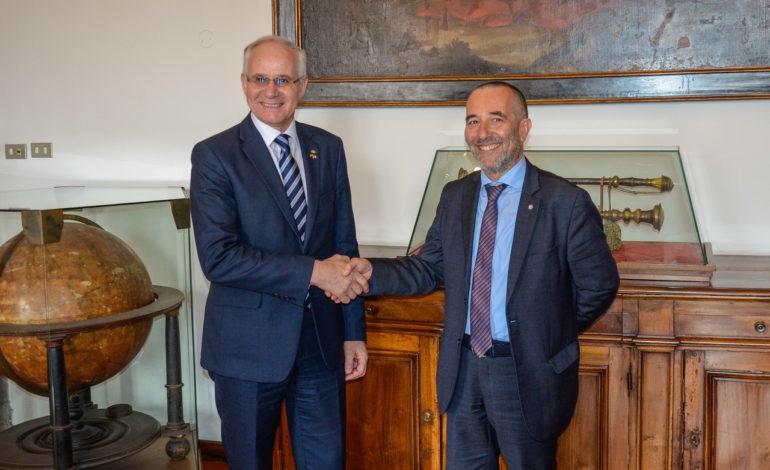 Il Rettore dell'Università di Pisa incontra il Ministro dell'Istruzione della Repubblica di Lituania