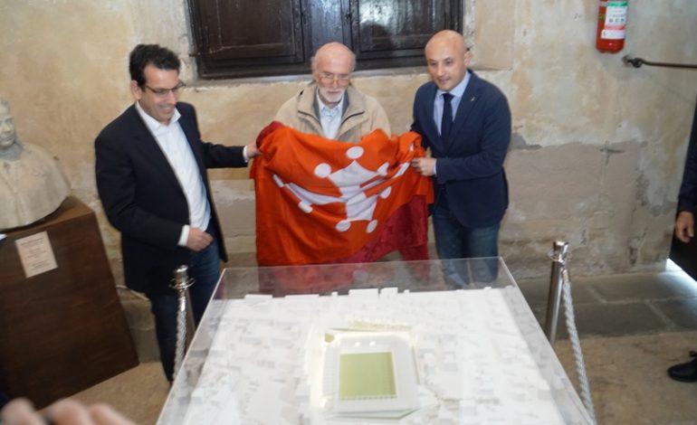 Pisa, in mostra nell'atrio di Palazzo Gambacorti il plastico del nuovo stadio