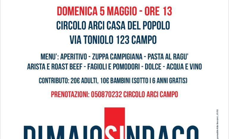 A Campo il pranzo della coalizione a sostegno di Sergio Di Maio