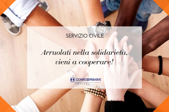 Servizio Civile, 107 opportunità con Confcooperative Toscana