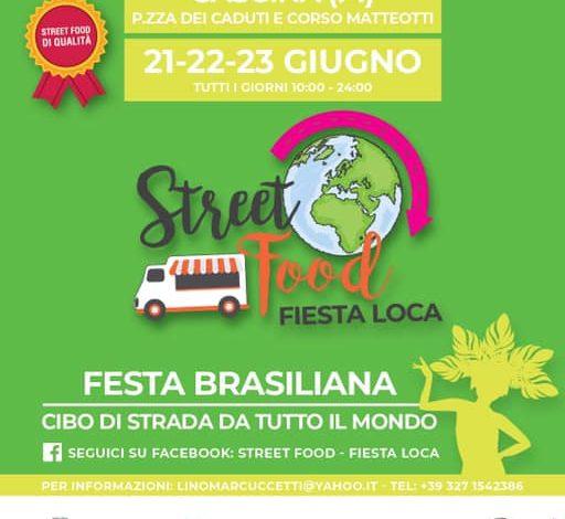 Cascina, fine settimana con lo street food della Fiesta loca