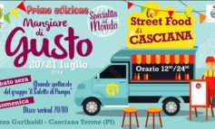 Un weekend di street food a Casciana Terme