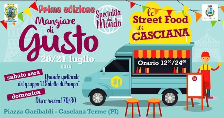 Un weekend di street food a Casciana Terme