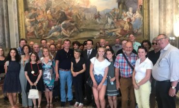 Il Rotary Club di Weibling ricevuto a Palazzo Gambacorti
