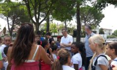 Calcinaia, il Sindaco visita i campi solari comunali