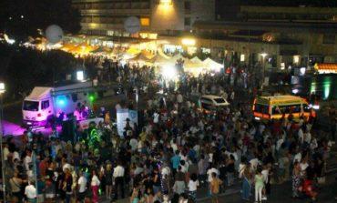 Notte Blu Tirrenia, presenze record e operatori soddisfatti