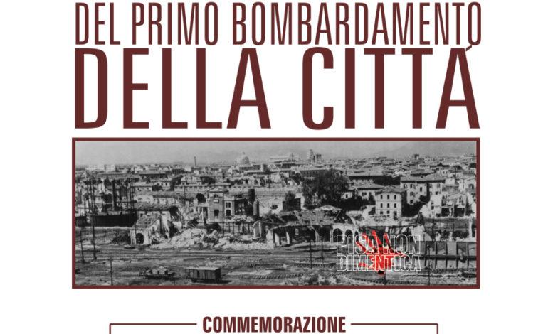 Pisa, 31 agosto 1943 primo bombardamento della città