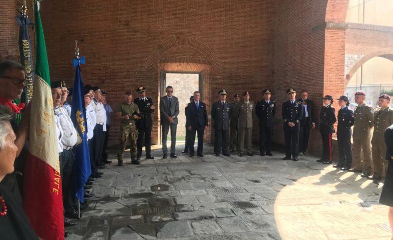 Pisa, cerimonia di commemorazione delle vittime del bombardamento del 1943