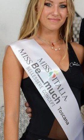 Emily Bolognesi di Pisa è stata proclamata Miss Bellessere Be_ Much Toscana 2019