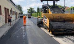 Lavori stradali, proseguono le asfaltature