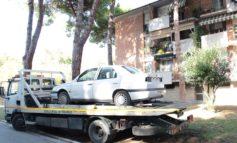 Interventi antidegrado nei quartieri, rimossi sei relitti di veicoli al Cep