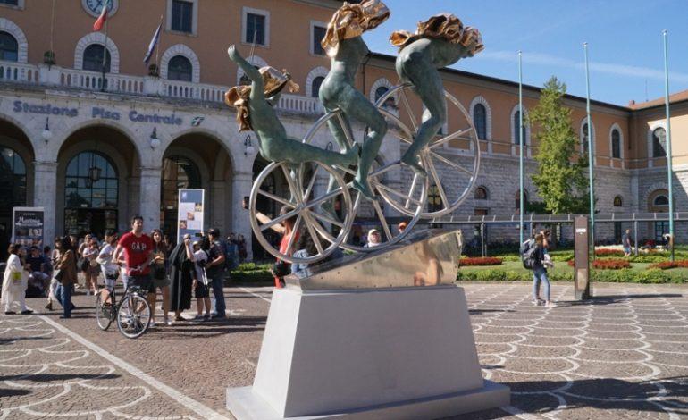 Al via l'allestimento delle statue dell'artista Anna Chromy
