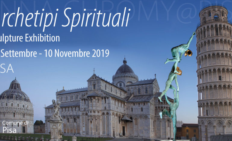 """A Pisa dal 20 settembre la mostra """"Archetipi spirituali"""" dell'artista Anna Chromy"""