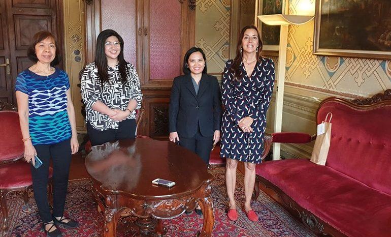 Pisa, le autorità consolari e governative delle Filippine in visita