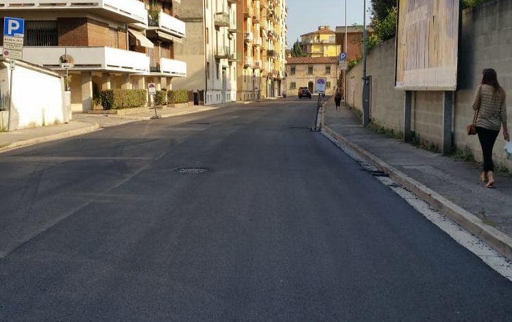Asfaltature, si lavora in notturna in via Matteotti e via Matteucci