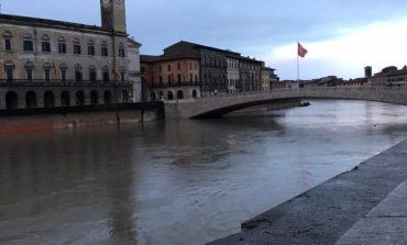 Possibile piena Arno, disposto l'avvio del piano di protezione civile
