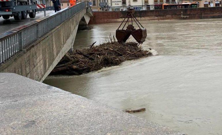 Mercoledì 20 Ponte del Cep chiuso al traffico dalle 13.30 alle 19.00 per lavori di rimozione alla base delle pile