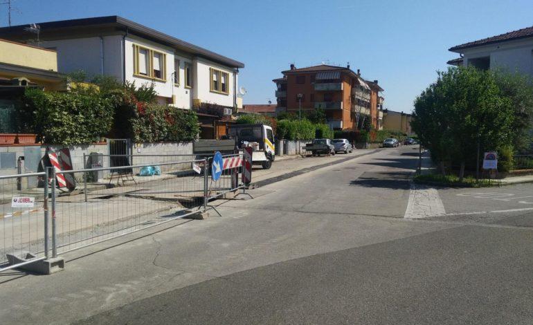 Calcinaia, ultimati i lavoro di asfaltatura
