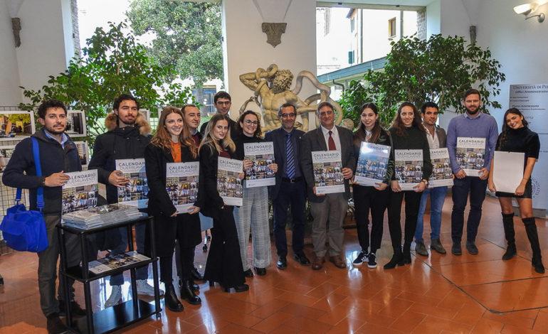 Presentato il calendario ufficiale 2020 dell'Università di Pisa