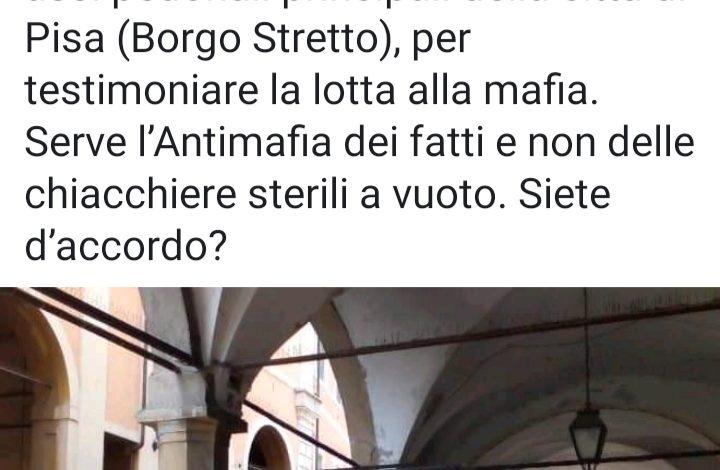 """Edicola rimossa, Latrofa (Pisa nel Cuore): """"Insegniamo ai nostri figli che la mafia fa schifo"""""""