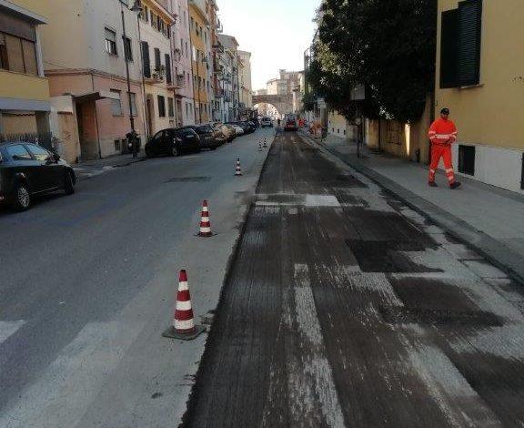 Manutenzioni stradali nei quartieri