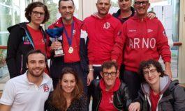 Nuoto, Canottieri Arno prima ai campionati regionali master