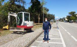 Verde pubblico e manutenzioni, completata la pulizia della pista ciclabile del litorale