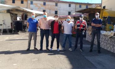 Calci: ripartito il mercato in via Roma