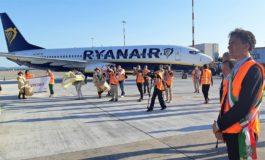 Aeroporto, arrivato il primo volo Ryanair dopo il lockdown