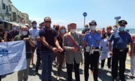 Al via la pedonalizzazione a Marina di Pisa