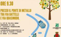 """Il Comune di Pisa aderisce a """"Puliamo il mondo"""""""