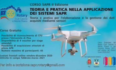 Rotary, presentata la seconda edizione del corso SAPR