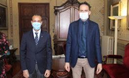 Il Sindaco di Pisa incontra il nuovo Questore Gaetano Bonaccorso
