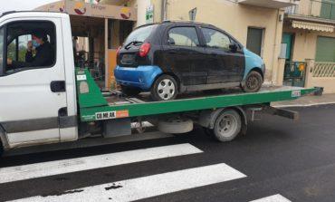 Polizia Municipale, rimossi 320 veicoli in situazione di degrado