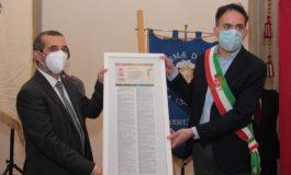 Conferita la cittadinanza onoraria di Vittorio Veneto ai caduti della Prima Guerra Mondiale dell'Università di Pisa