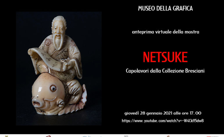 """Al Museo della Grafica la mostra """"NETSUKE. capolavori dalla Collezione Bresciani"""""""