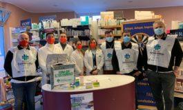 Grande successo per La Round Table 76 San Miniato Fucecchio alla Giornata di Raccolta del Farmaco