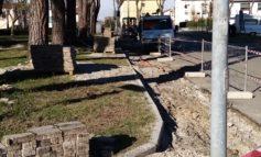 Partiti i lavori di riqualificazione di Piazza Fermi a Calcinaia